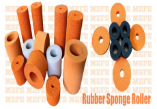 Sponge Rubber Roller, Rubber Sponge Rollers, Sponge Rubber Rollers, Label Application Roller